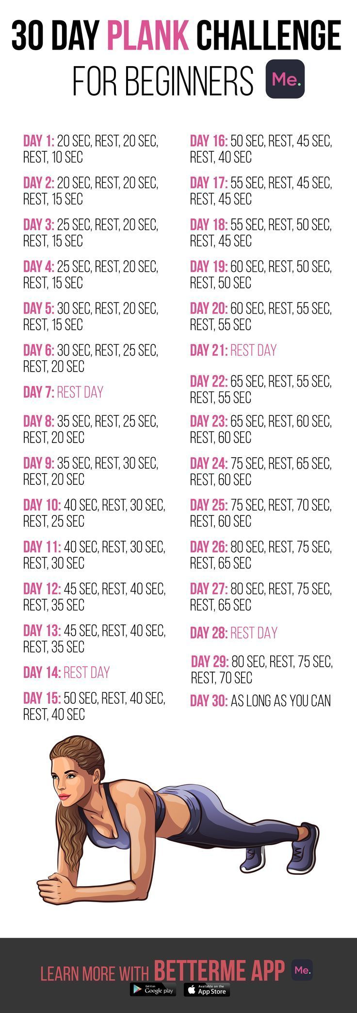 #Fitness #Motivation #PlankChallenge Get Ultimate 28-Days Meal & Workout Plan! Click to download the...