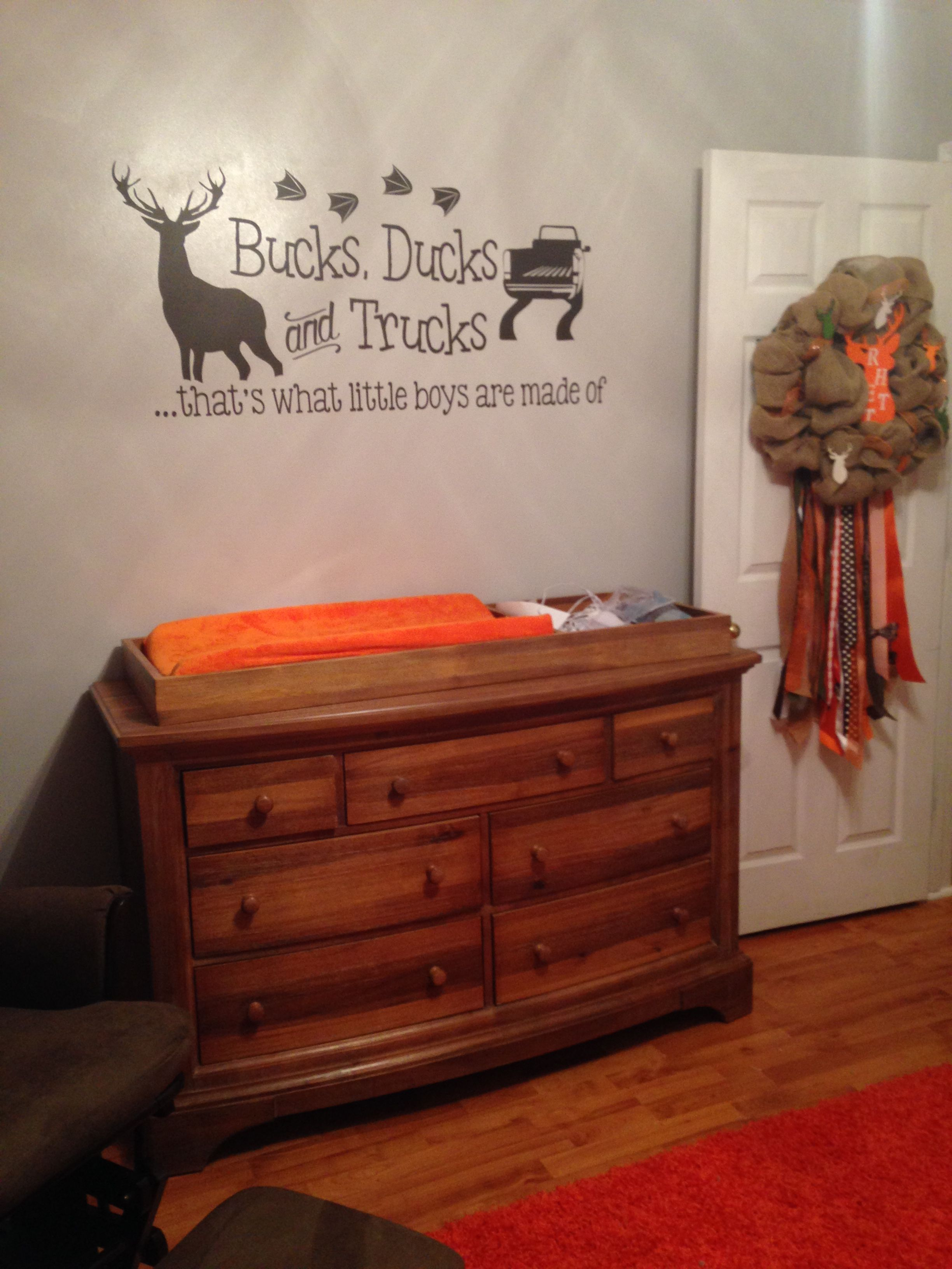 Outdoors Camo Hunting Themed Nursery