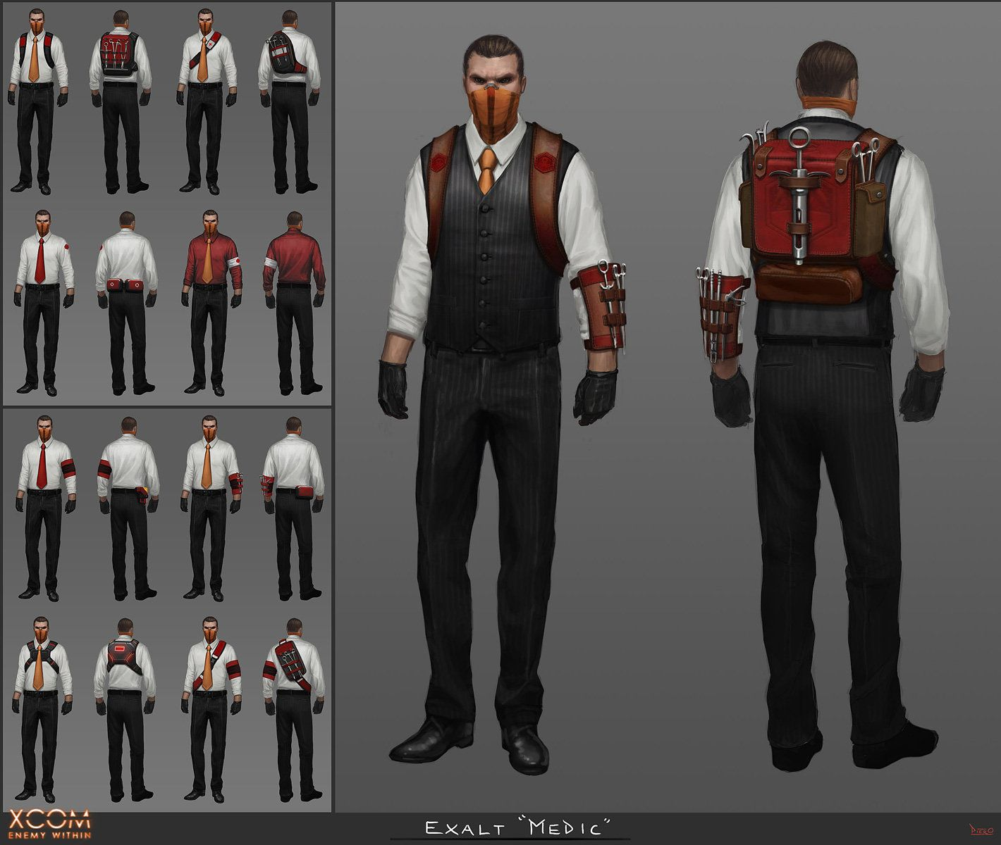 Piero macgowan exalt medic The secret world, Concept art