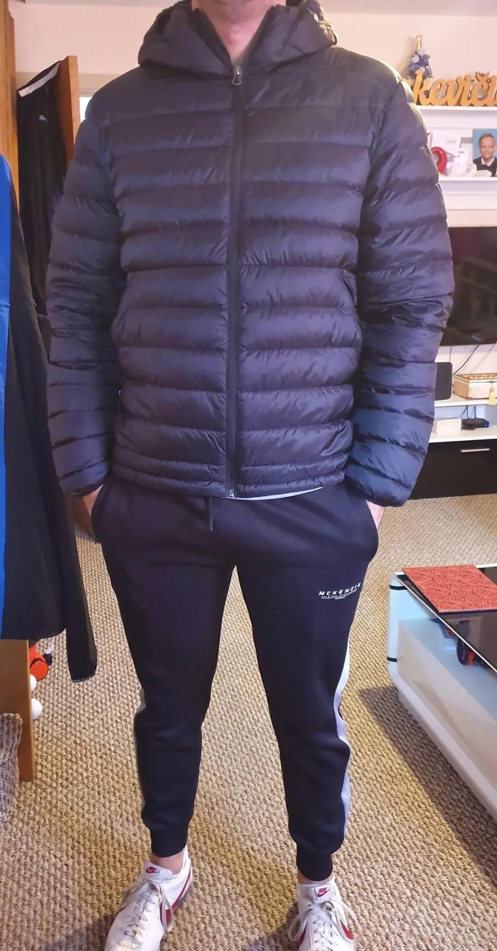 Lesmart Men S Lightweight Puffer Down Coat In 2020 Mens Golf Outfit Mens Down Jacket Windproof Jacket