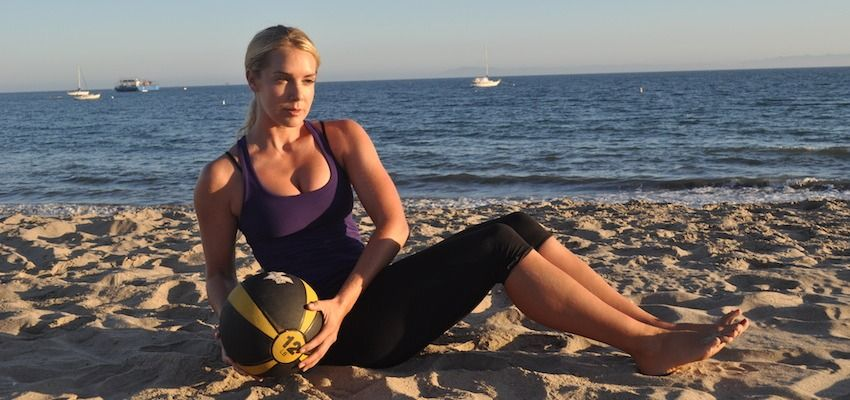 6 Moves For Total Body Transformation (All You Need Is A Medicine Ball!)