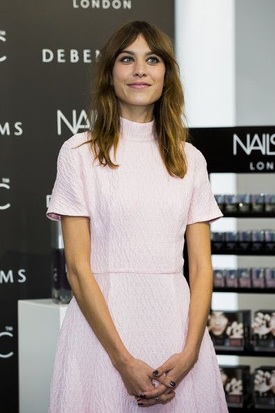 Alexa Chung Photos: Alexa Chung Launches Her Manicure Collection