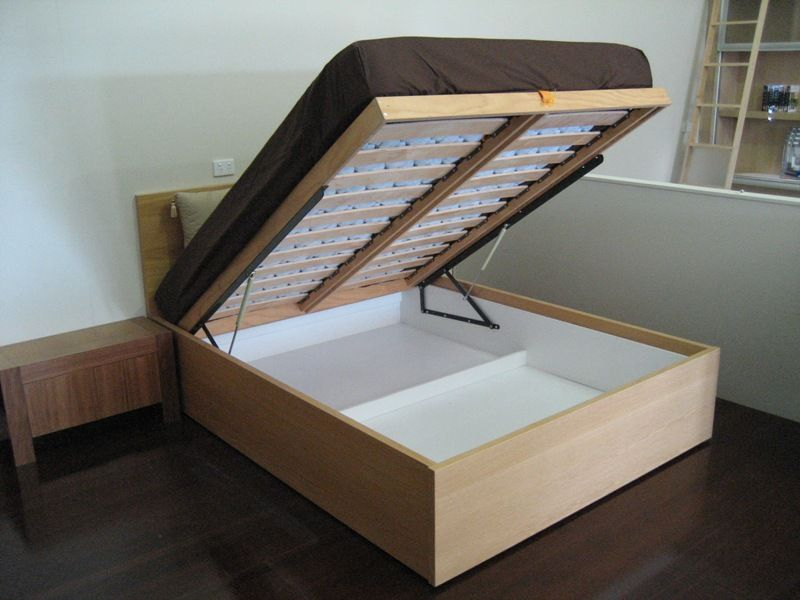 Ikea walls beds kits the lift up bed has your storage - Lift up storage bed ...