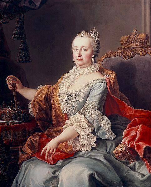 Marie Thérèse d\'Autriche   Rokokó festmények - rococo paintings ...