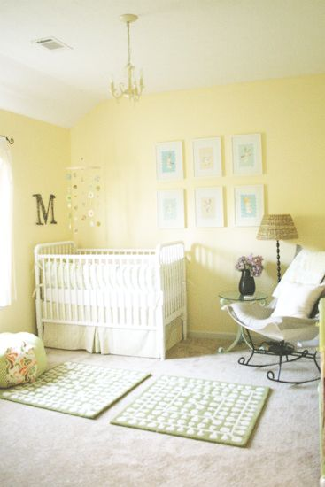 Yellow Nursery Im All About Gender Neutral Everything