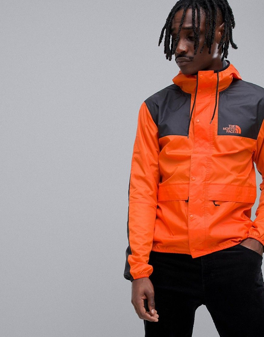 c3a3f103a6be5 THE NORTH FACE 1985 SEASONAL CELEBRATION MOUNTAIN JACKET IN ORANGE -  ORANGE. #thenorthface #cloth