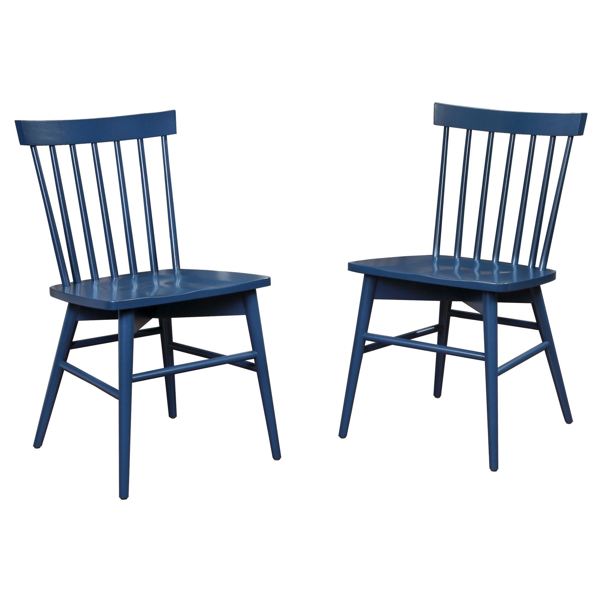 navy blue dining chairs set of 2 walnut room windsor chair threshold products