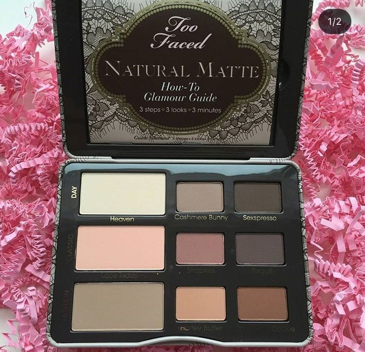 Pin by Melanie Smith on Makeup Too faced natural matte