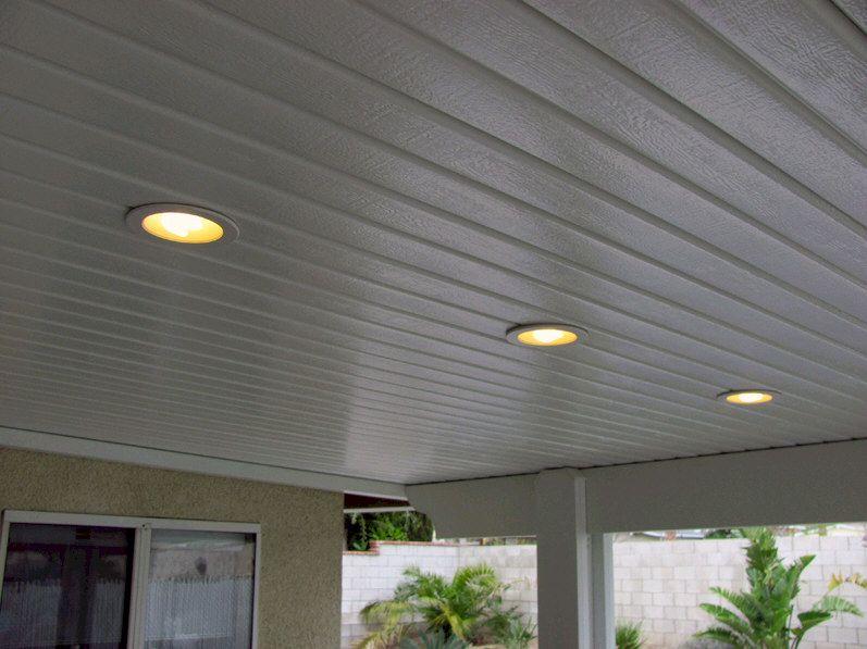 porch high hat lights patio lighting