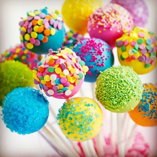 How Many Rainbow Cakepops Does It Take To Eat A Whole Cake Oh