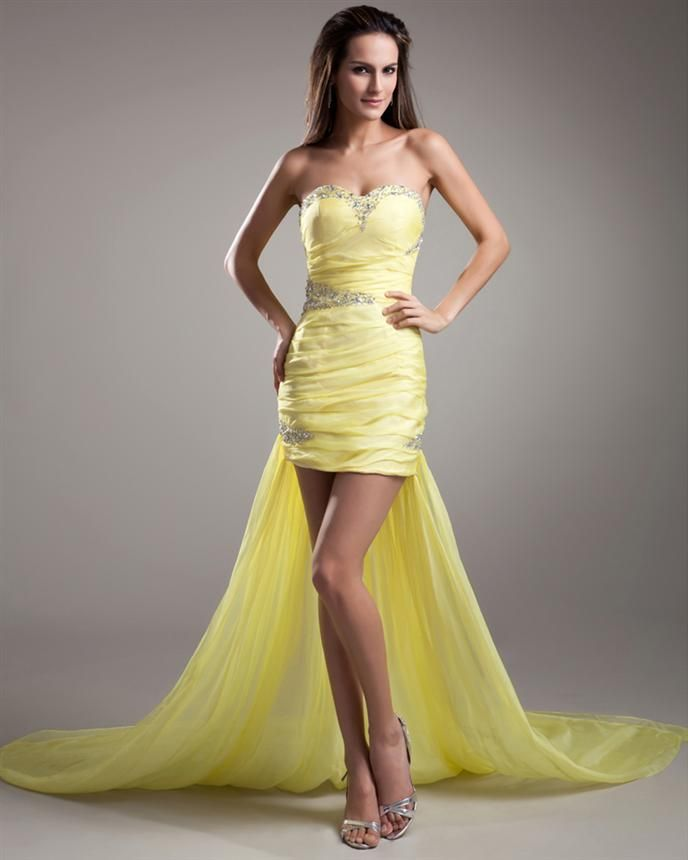Cool Yellow Dresses