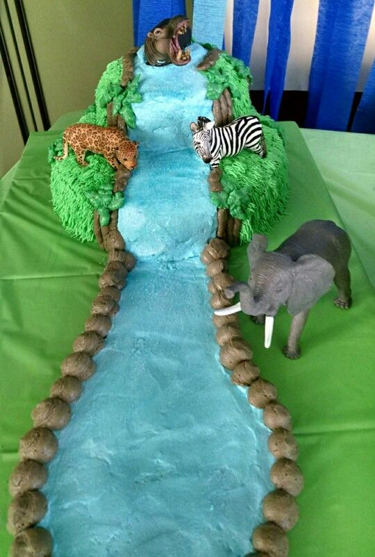 Jungle cake made for my Daughter-in-law baby shower.