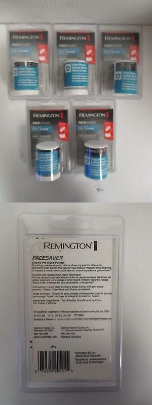 5 Remington Face Saver Electric Pre Shave Powder Sp 5 Rc 7687