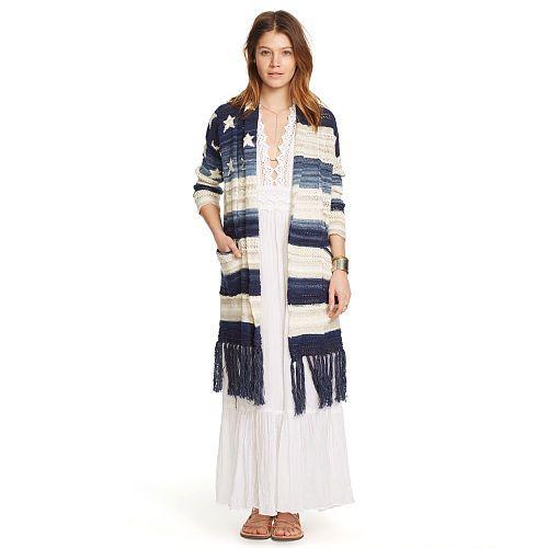 Cotton Shawl Cardigan - Cardigans  Sweaters - RalphLauren.com