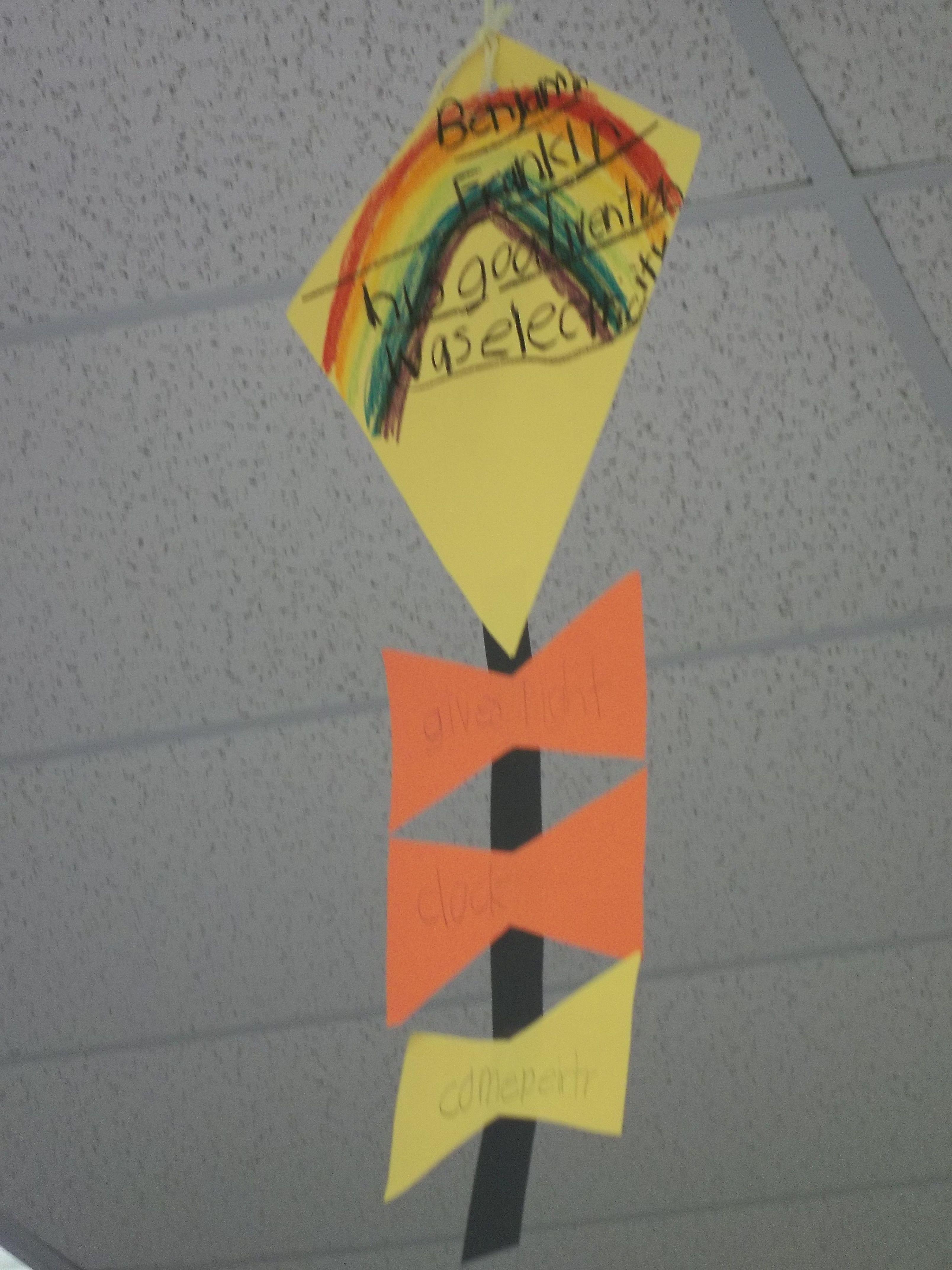 Ben Franklin Best Invention Kites