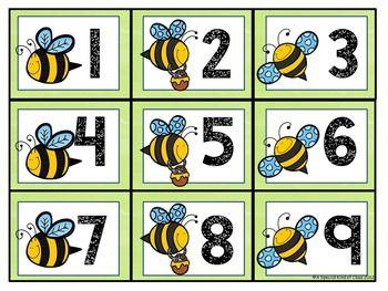 Bee Calendar Numbers Bee Classroom Decor Bee Themed Classroom Preschool Classroom Themes
