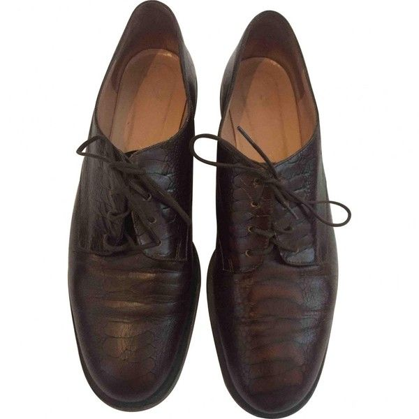 Pre-owned - LEATHER DERBIES Robert Clergerie tChqhhCc