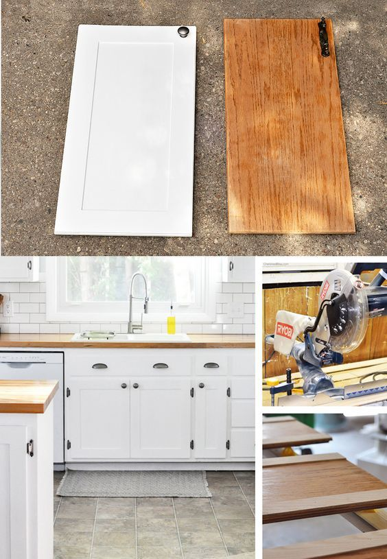 Kitchen Hack: DIY Shaker Style Cabinets | Old kitchen ...