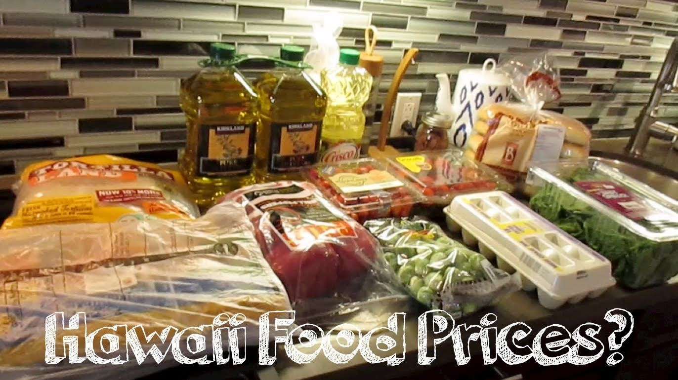 Hawaii Food Prices??? (3.9.14 - Day 68)
