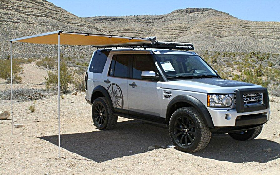 Perfect Land Rover LR4 Roof Rack   4WD Roof Racks Australia