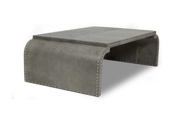 Studded Coffee Table Handmade Designer Furniture Not Found In - Studded coffee table