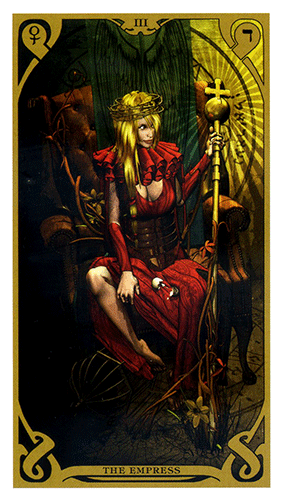 The Empress - Night Sun Tarot
