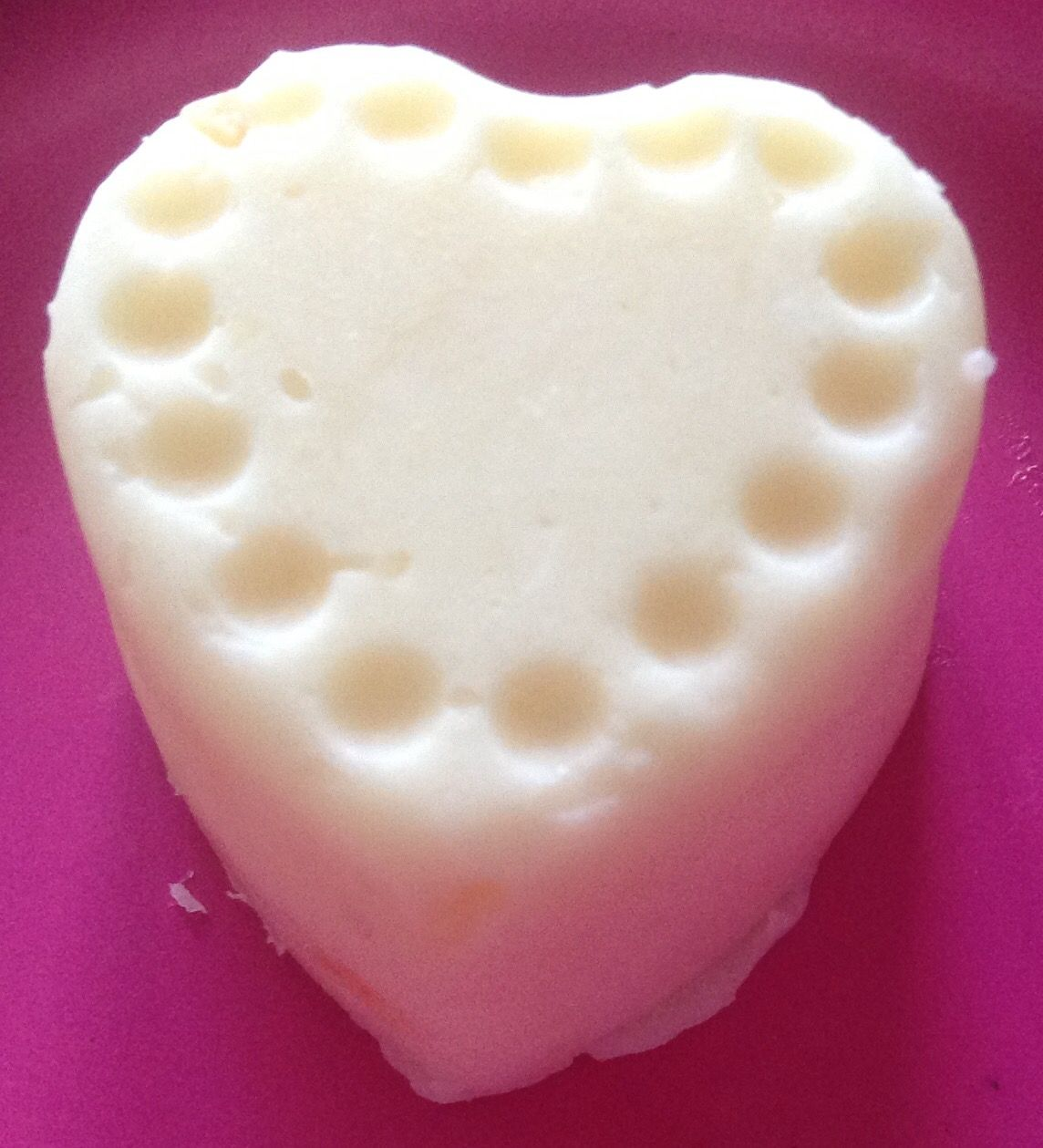 burro a cuore stella fiore  detergente idratante profumante sotto la doccia