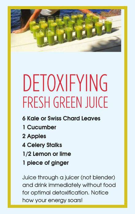 Fresh Green Juice Recipe