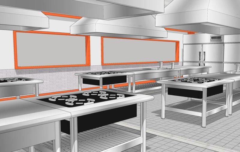 웹툰 스케치업 배경 무료이미지 8 조리실 학교 실습실 요리 주방 네이버 블로그 요리 배경 디자인