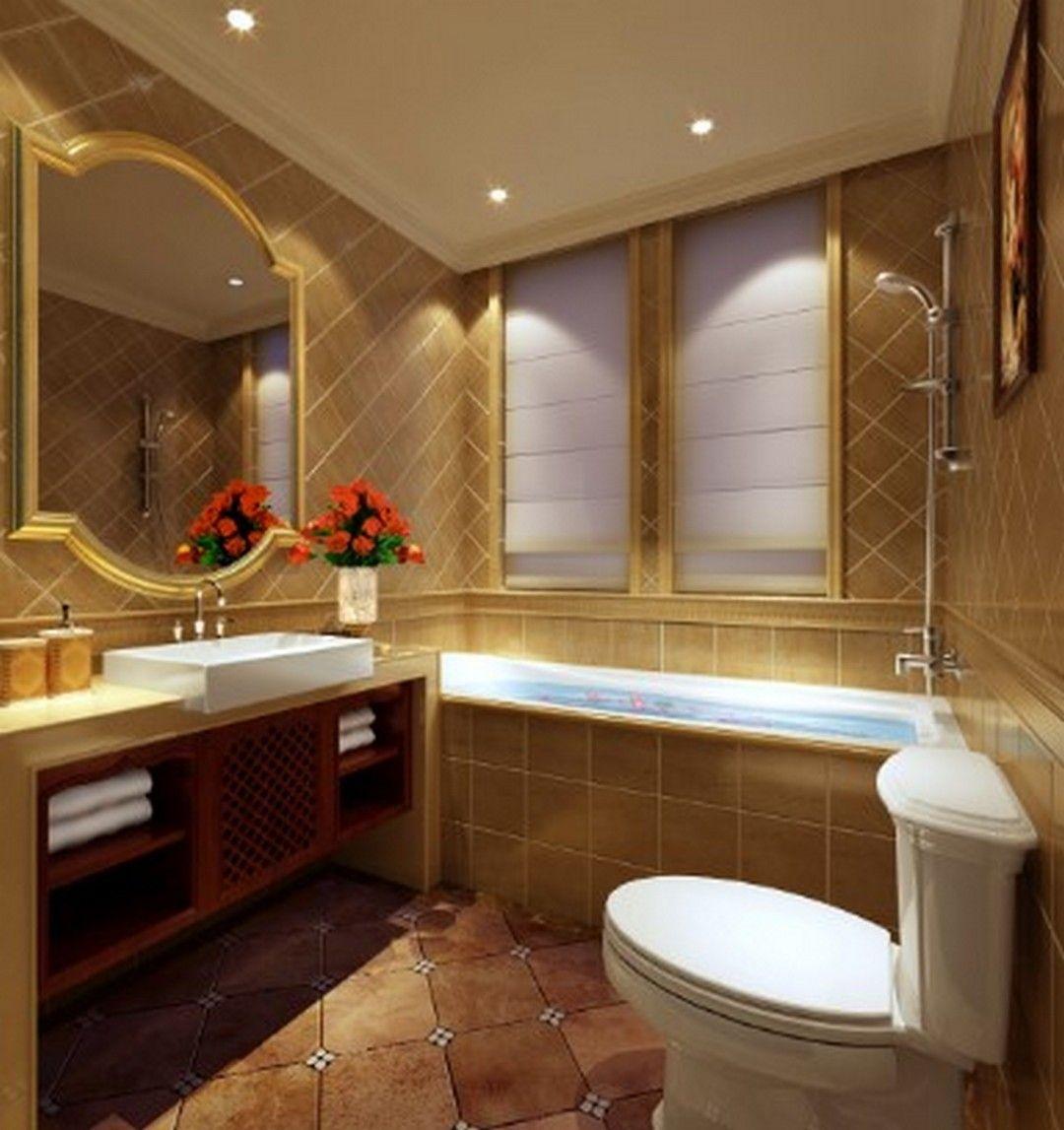 10 Luxury Bathroom Models For Modern Homes | Small luxury ... on Model Toilet Design  id=77322
