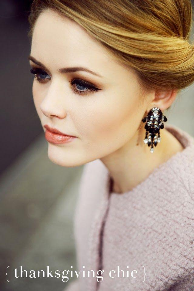 thanksgiving { beauty } #hair #makeup #thanksgiving