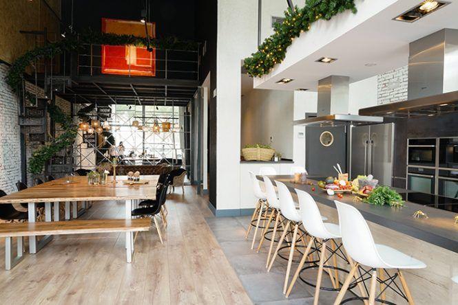 Treetops un nuevo espacio gastron mico en madrid con un elegante y moderno dise o shops - Escuela decoracion madrid ...