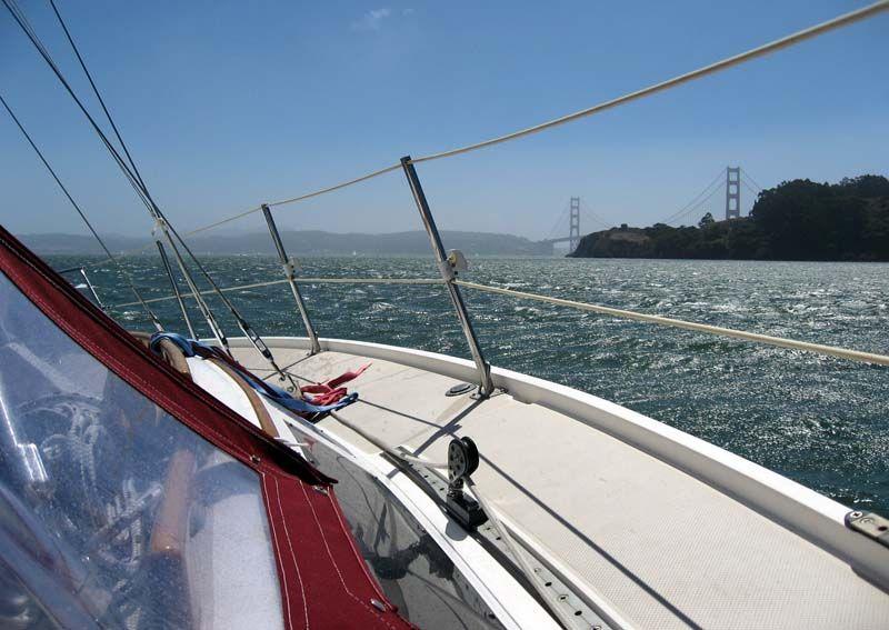 Sailing in the san francisco bay san francisco bay