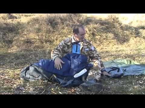 Prezentare adapost si sac de dormit