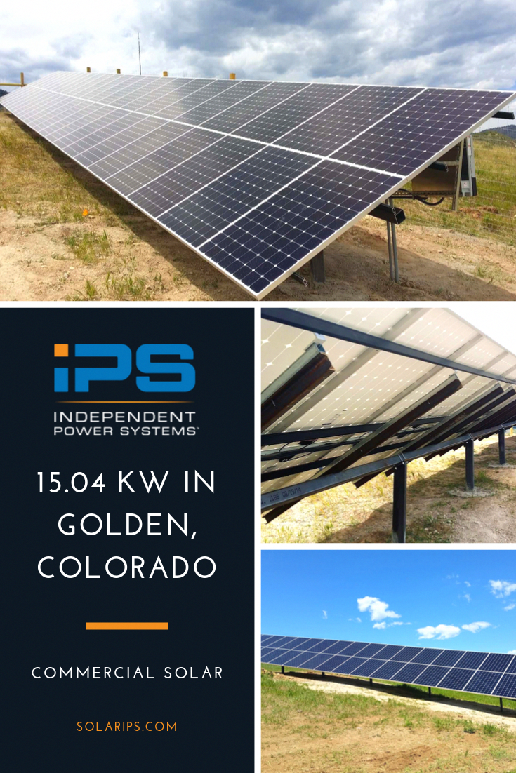 Ips Recently Installed A 15 04 Kw Solar Power System At The Centura Health Clinic In Golden Colorado The System In 2020 Solar Installation Solar Technology Solar