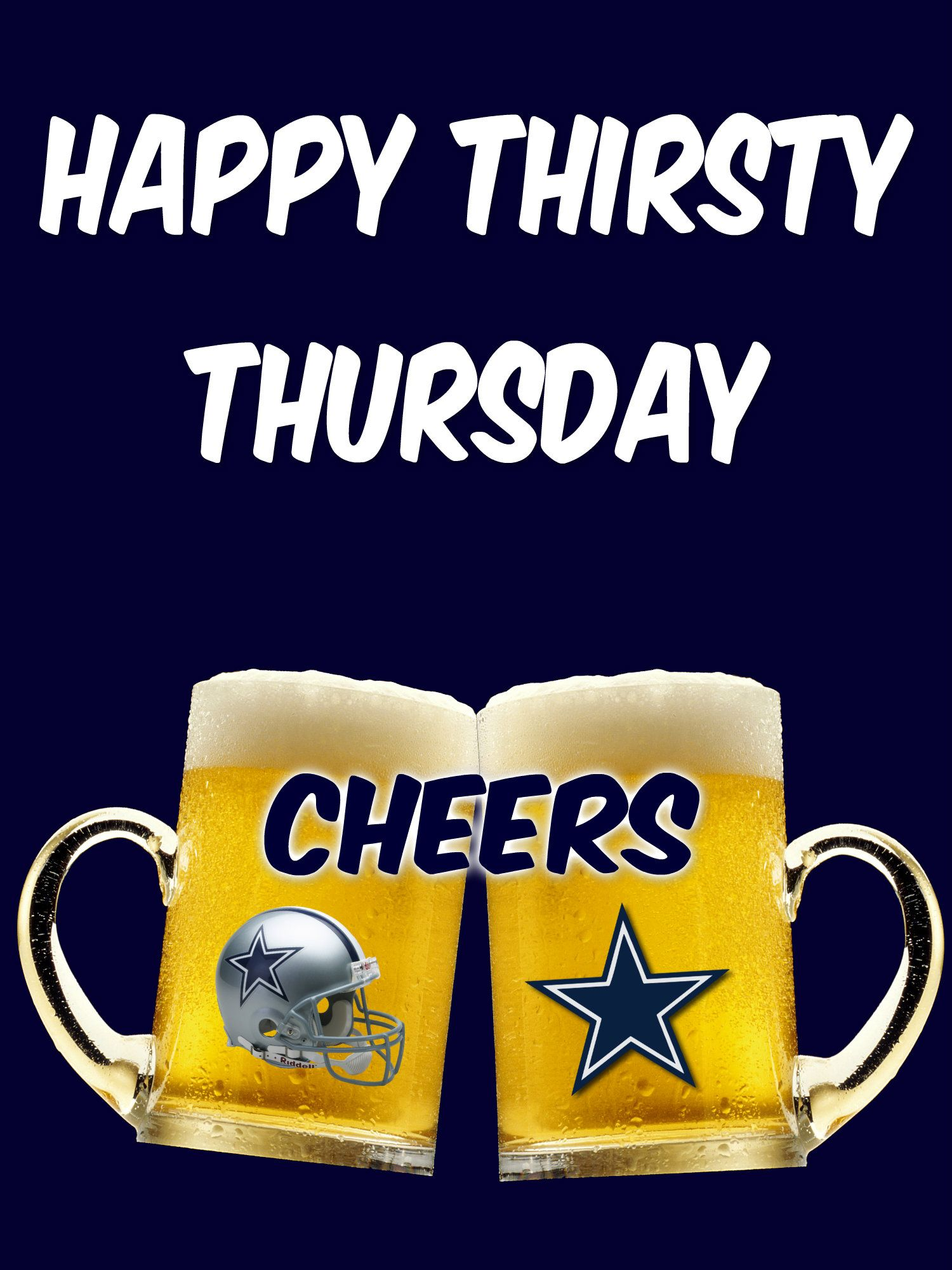 Thirsty Thursday.. | Dallas Cowboys Edits.. | Pinterest