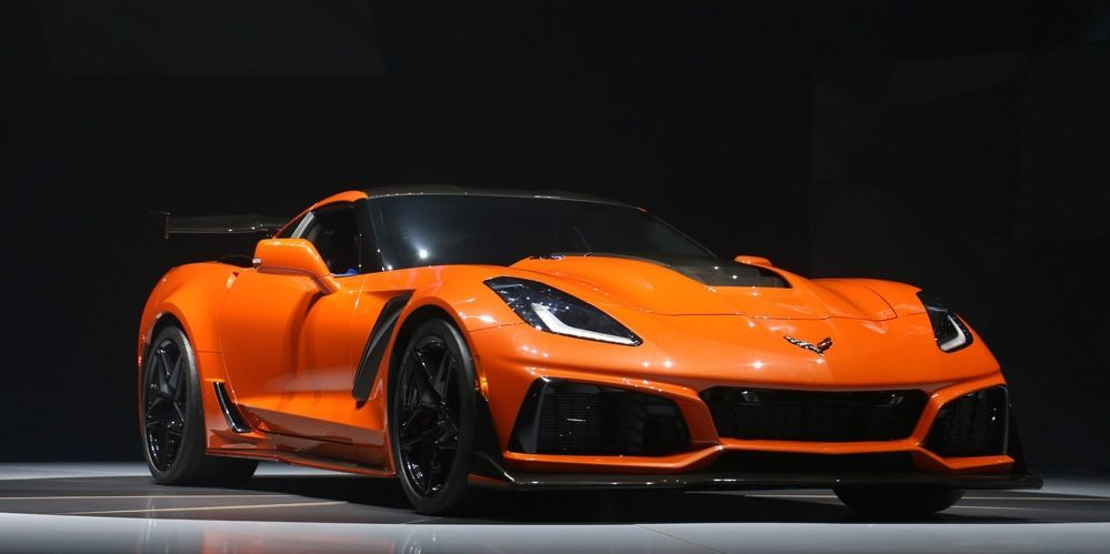 2019 Chevrolet Corvette Zr1 Live Pictures With Images