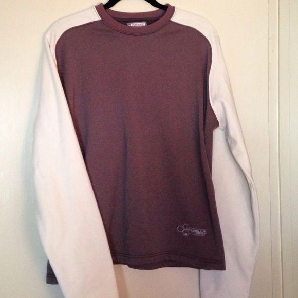 Burton Sweatshirt Pull over sweatshirt, fuzzy on the inside nylon like on the outside. Very comfy Burton Tops Sweatshirts & Hoodies