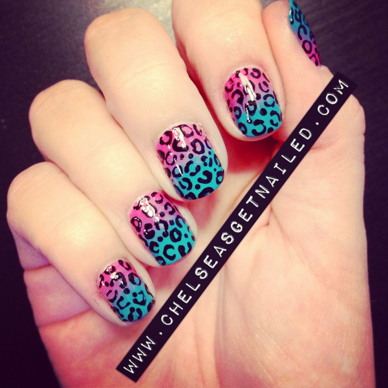 Leopard Print What I Used Essie Guilty Pleasures Butter London