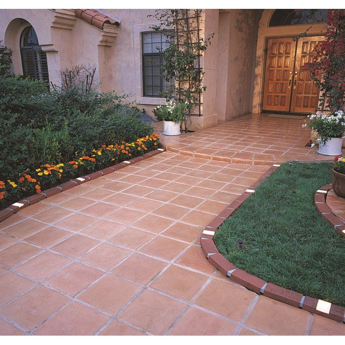 2 in. H x 4 in. W Lawn Edging | Brick patterns patio, Lawn ...
