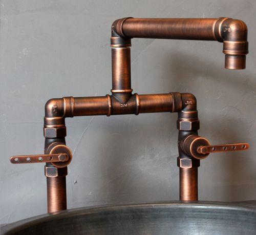 Pscbath Luxury Plumbing Fixtures Industrial Kitchen Faucet Copper Faucet Industrial Faucet