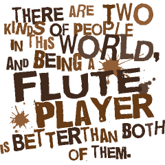 7531136c0 Personalized Flute T-shirts | School Music T-shirts And Gifts ...