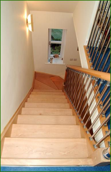 Best Chrome And Nickel Fusion Staircase Banisters Glass 400 x 300