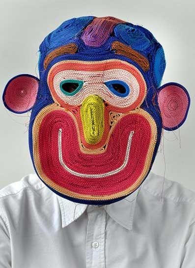 Bertjan Pot http://www.mikapoka.com/2012/05/ropemasks-face-pots.html