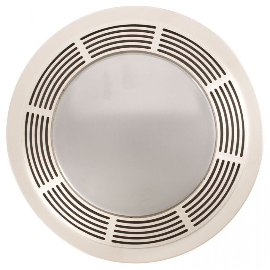 Broan Nutone Round Bathroom Exhaust Fan With Light 751