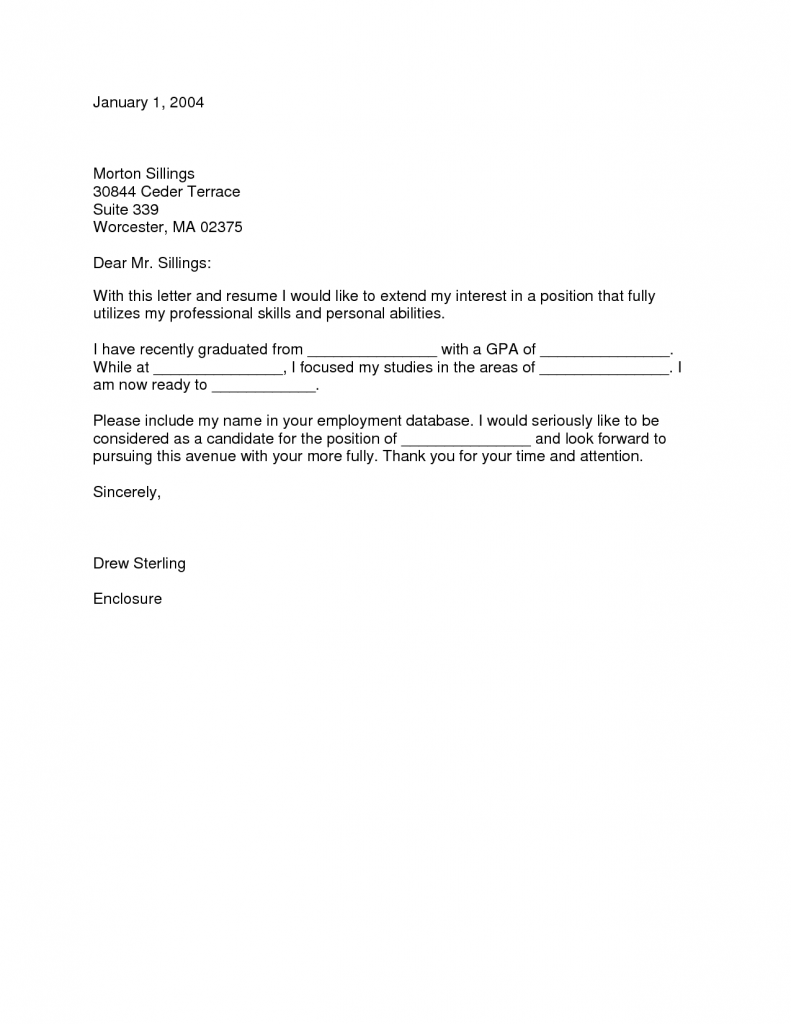 Sample Cover Letter Fresh Graduate Templates Grad Nurse Pinterest