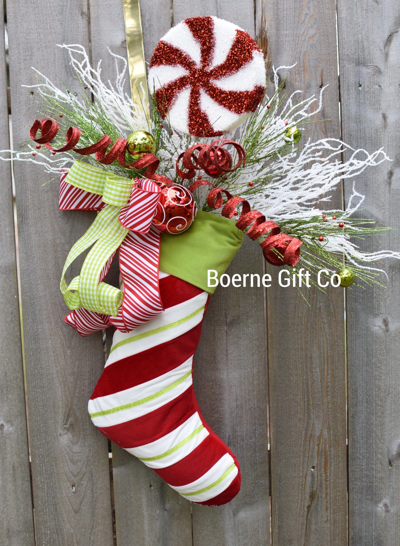Whimsical Christmas Decor Christmas Decor Christmas Door Hanger