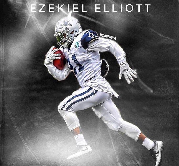 new style e1424 d669e Zeke Elliott | DALLAS COWBOYS | Nfl dallas cowboys, Cowboys ...