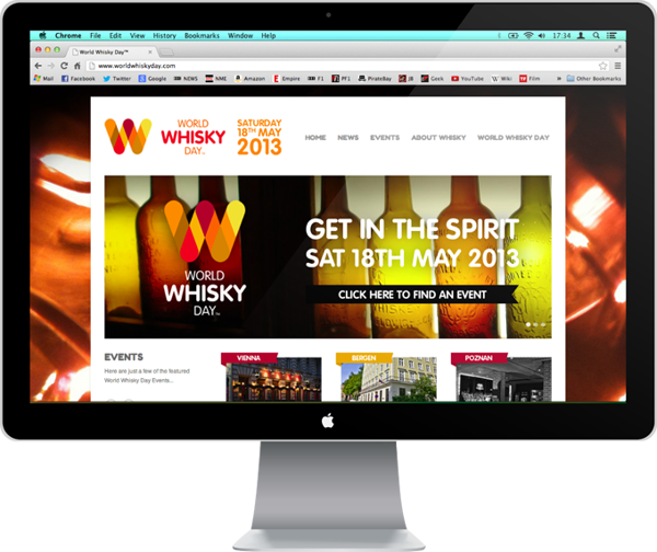 World Whisky Day By Kyle Robertson Via Behance Whisky Day World
