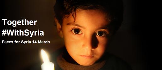 Il 14 #marzo per le 19.00  in piazza al #Campidoglio  accenderemo simbolicamente delle candele per ricordare i profughi, le vittime ed gli oltre 7.000 bambini uccisi in questo conflitto. #SaveSyriasChildren #withSyria